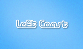Left Coast logo clip