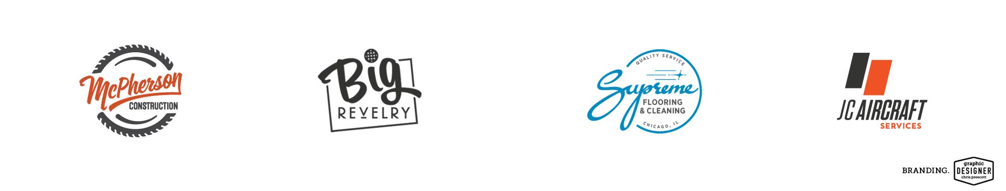 Logo / Branding design slider