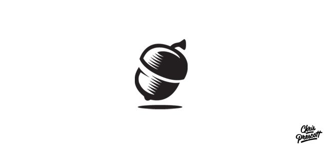 acorn-seed-tree-logo-design