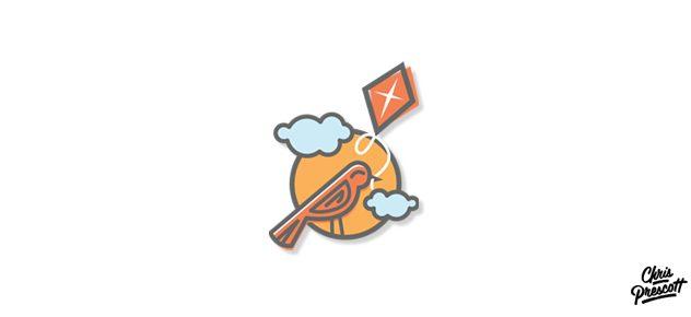 bird-kite-logo-design