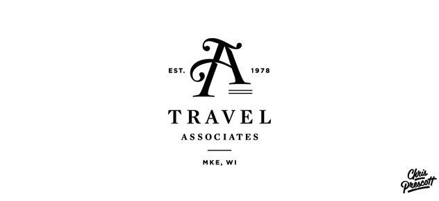 travel-agency-monogram-logo-design