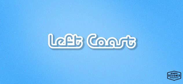 Logo Design for glass pipe company Left Coast