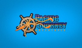 Pacific Journey Logo Clip