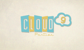 Cloud 9 Parties Logo Design