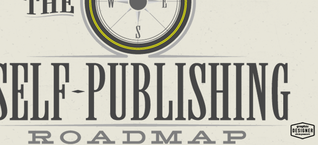 Self Publishing Roadmap compass logo design