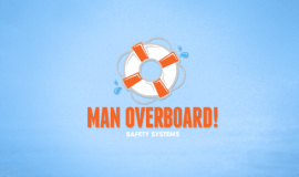 Water safety logo design